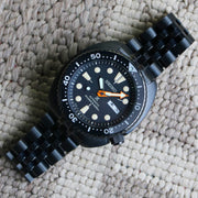 "Seiko ""Ninja Turtle"" SBDY005 JDM on Black-PVD Jubilee Bracelet (Limited to 300 pieces)"