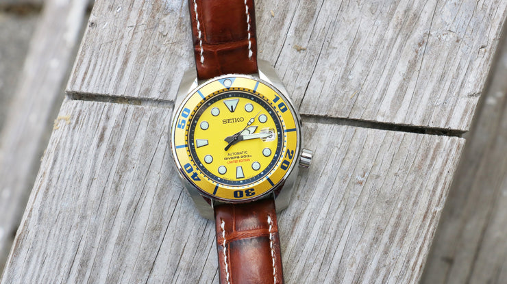 "Seiko ""Yellow Sumo"" SBDC017 Limited edition diver"