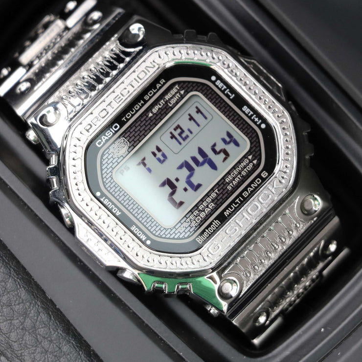 Hand-Engraved G-Shock Full Metal (Ref GMWB5000D1)