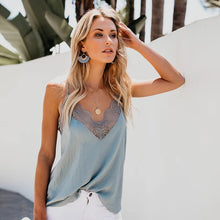 Load image into Gallery viewer, Sleeveless Lace Camis Tank Top