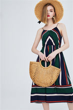Load image into Gallery viewer, Fashion Havana Casual Striped Dress