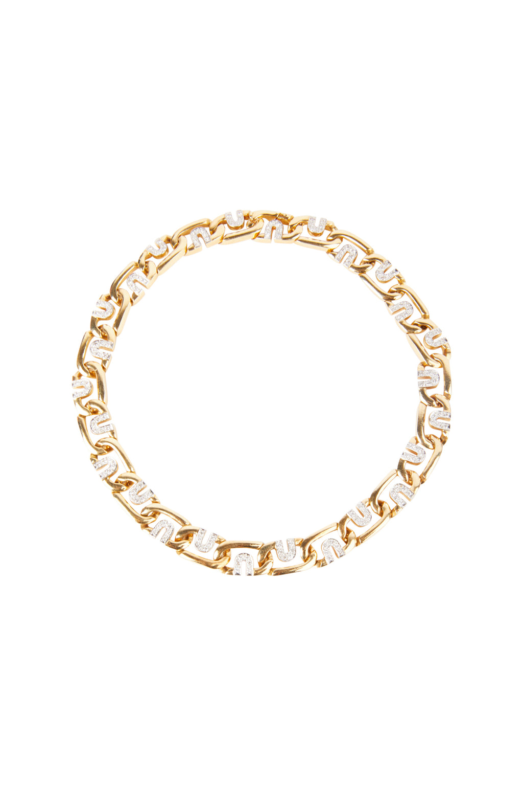 Diamond Gold Chocker Necklace
