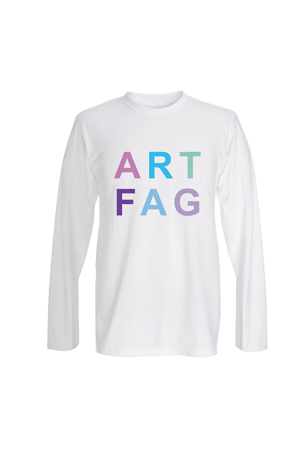 Kenny Schachter 'Art Fag' Long Sleeve T-shirt