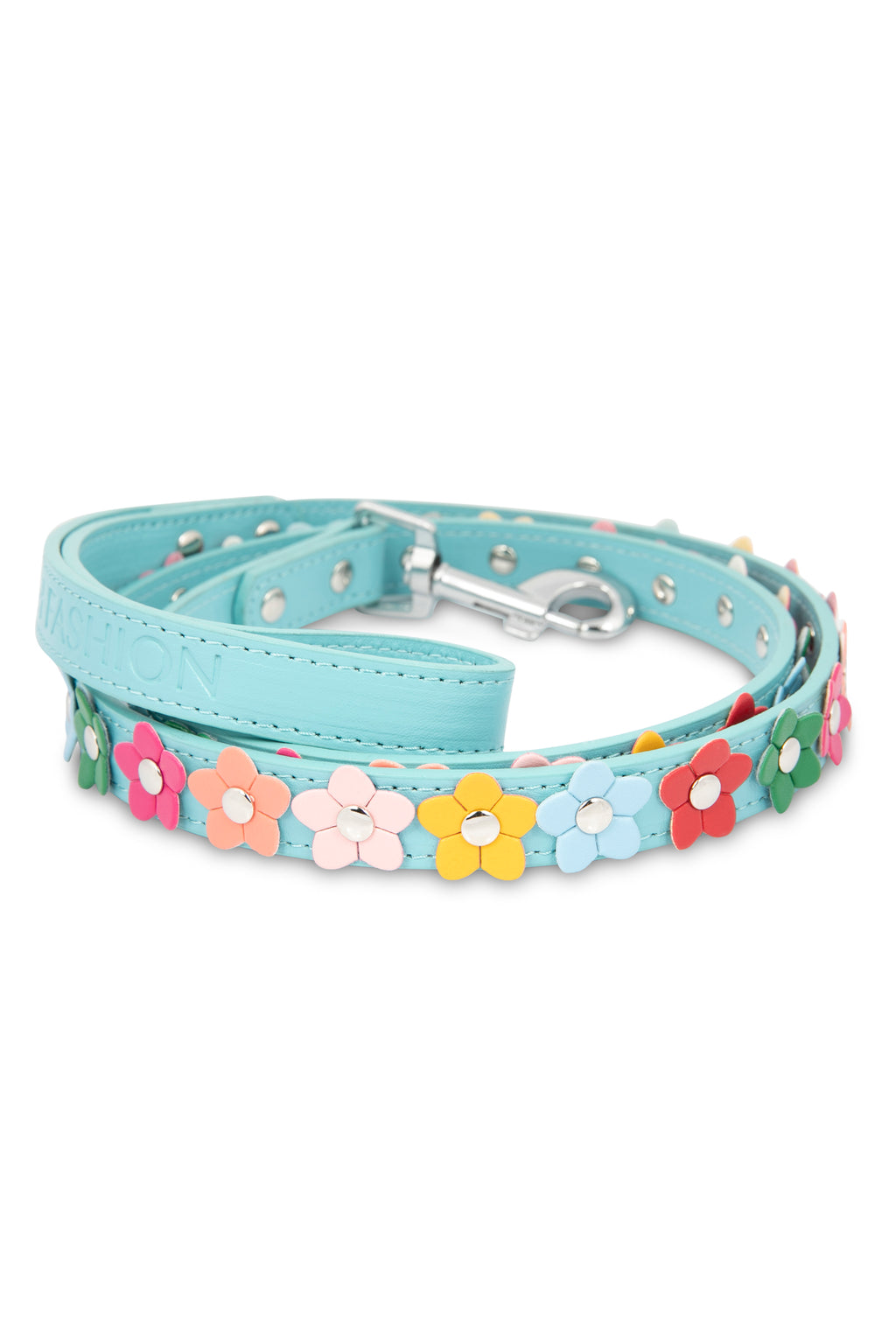 Blue Flower Leash