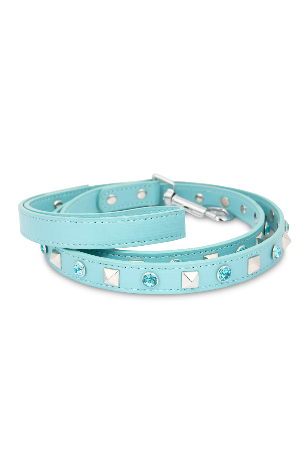 Rhinestone Blue Leash