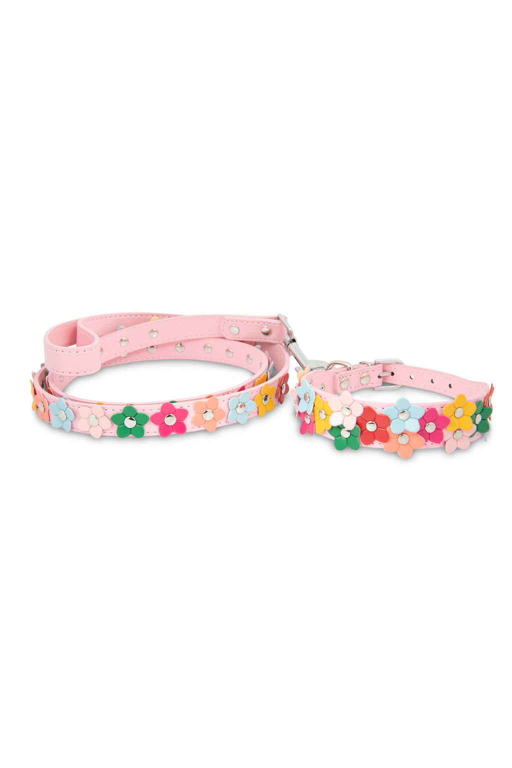 Pink Flower Leash