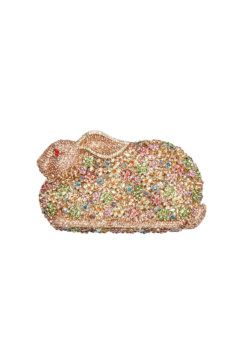 Diamante Rabbit Evening Clutch