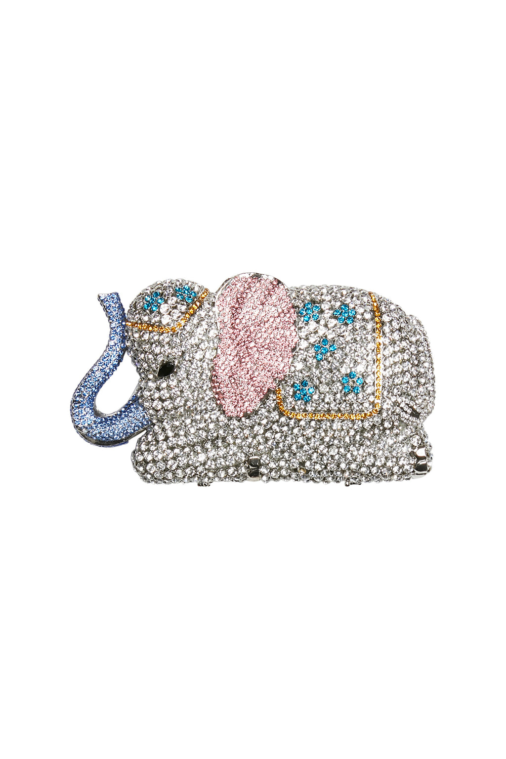 Diamante Elephant Evening Clutch
