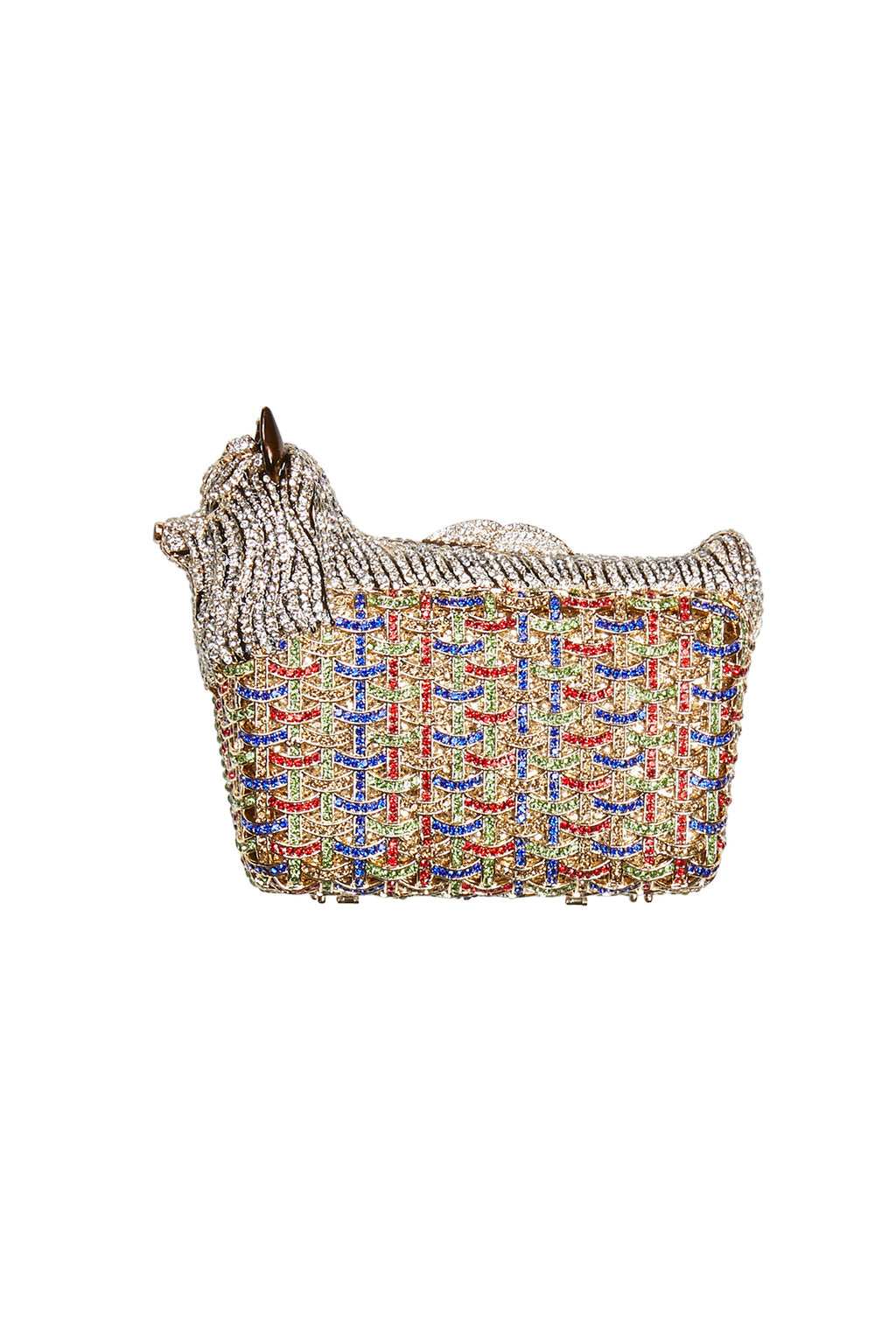 Diamante Dog Evening Clutch