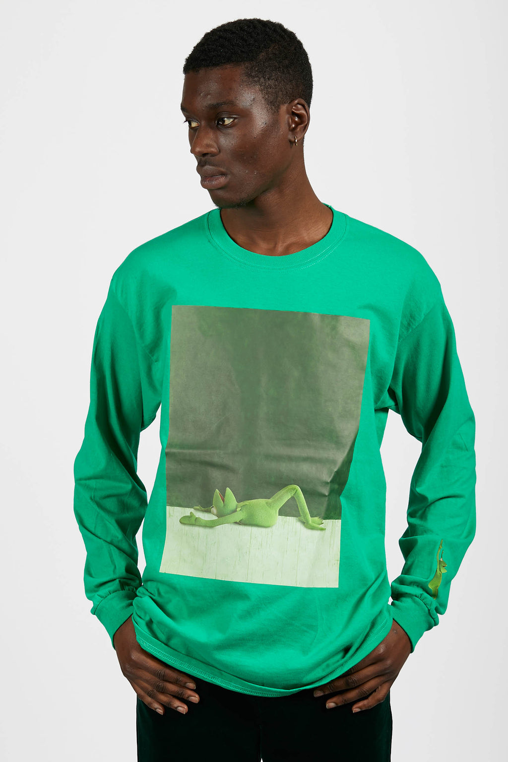 Kenny Schachter 'Kermit' Graphic T-Shirt