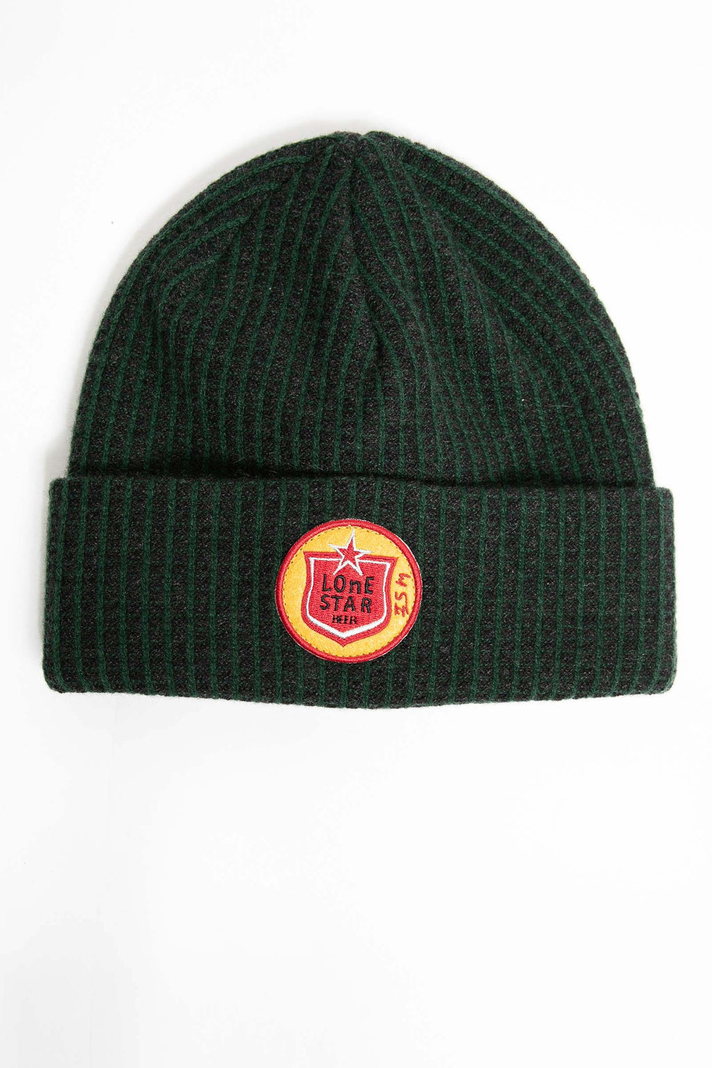 I.S.M. 'Lone Star' Green Cashmere Beanie