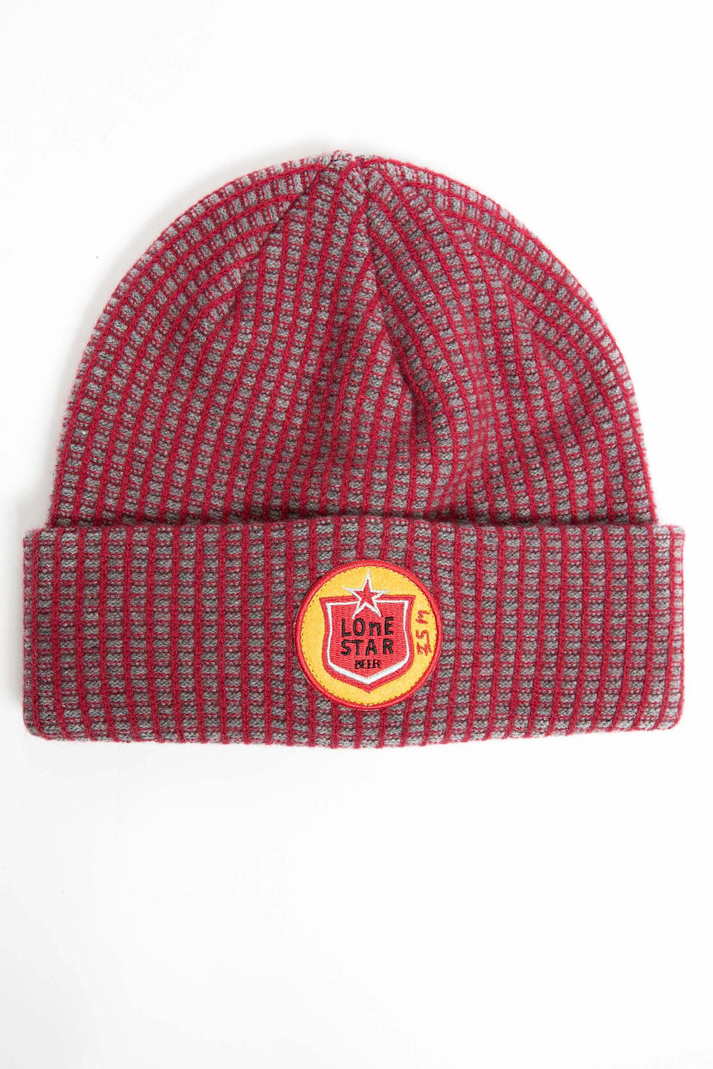 I.S.M. 'Lone Star' Red Cashmere Beanie