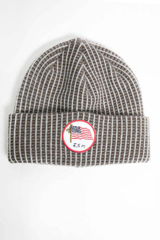 I.S.M. 'Security Officer' Burgundy Cashmere Beanie