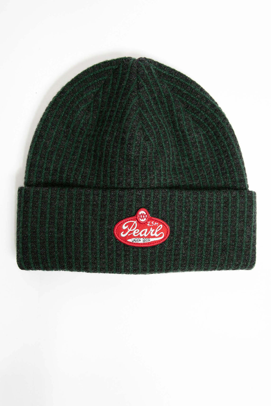 I.S.M. 'Pearl Lager' Green Cashmere Beanie