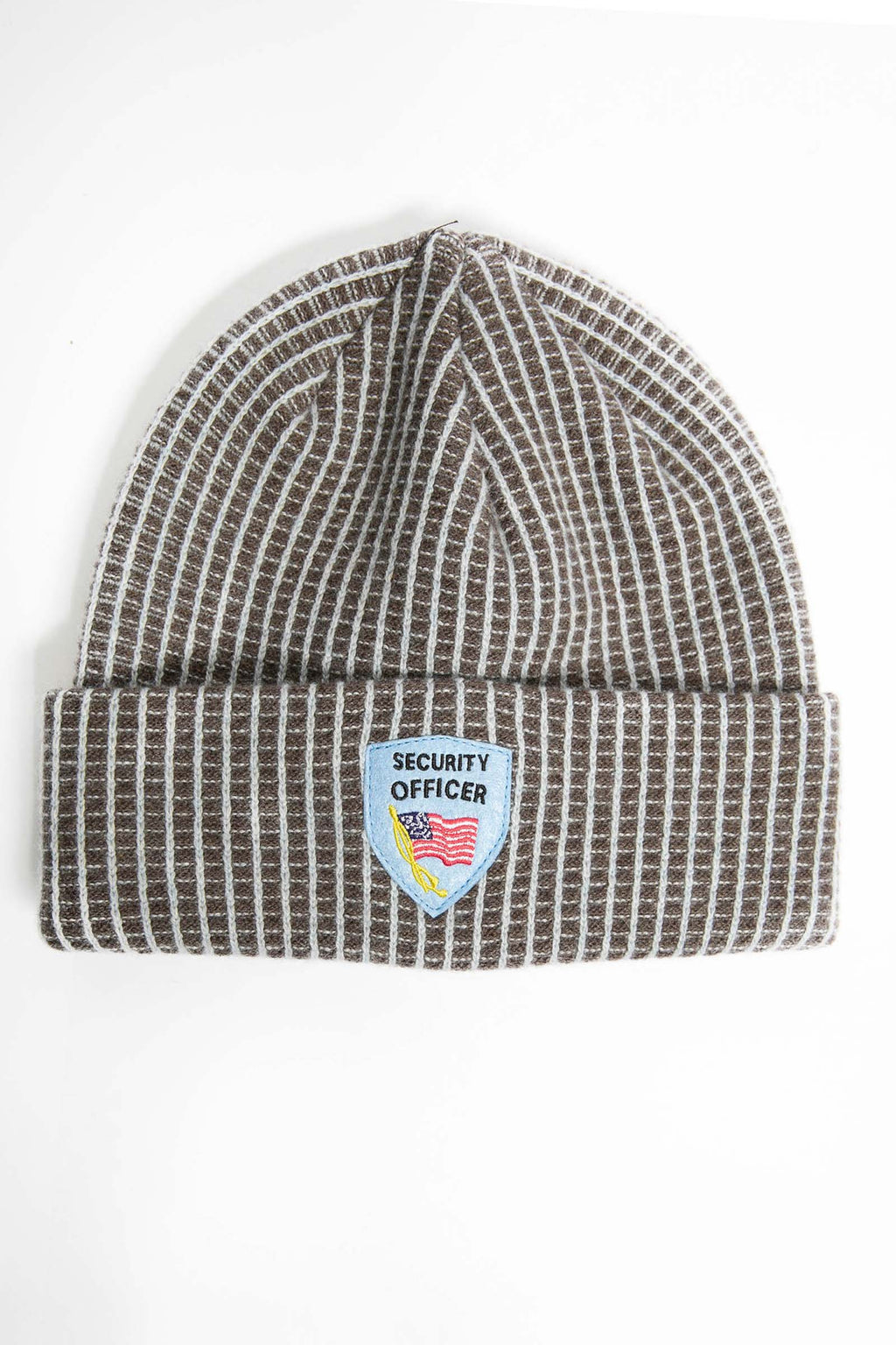 I.S.M. 'Security Officer' Grey Cashmere Beanie