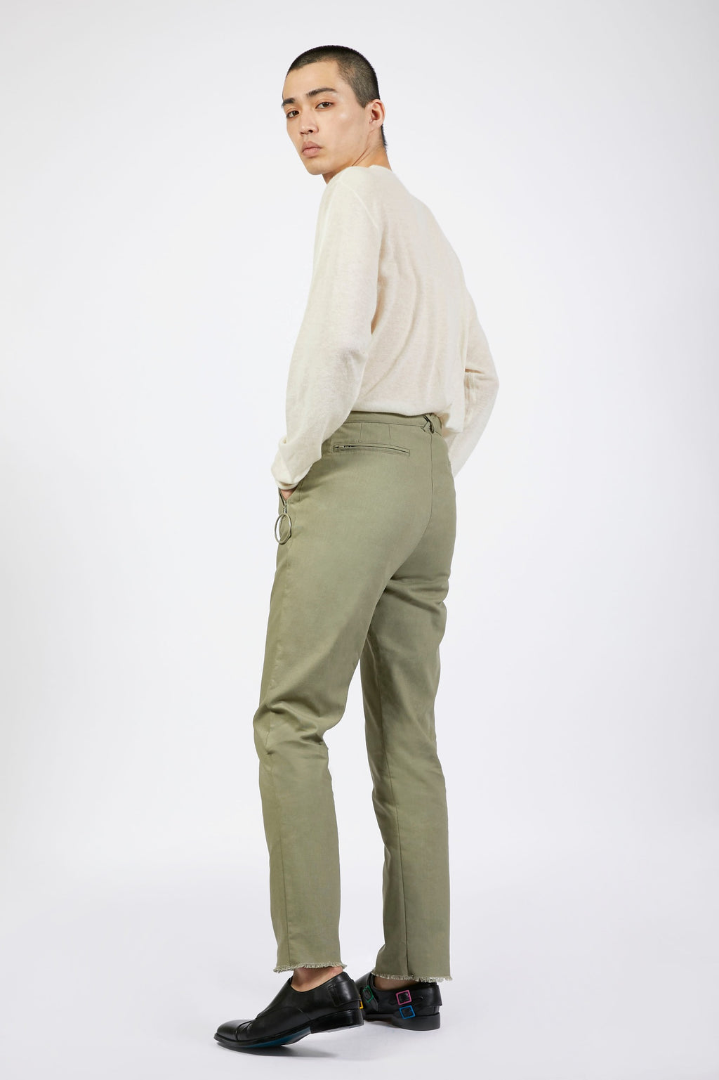 Unisex Green Loop Trousers