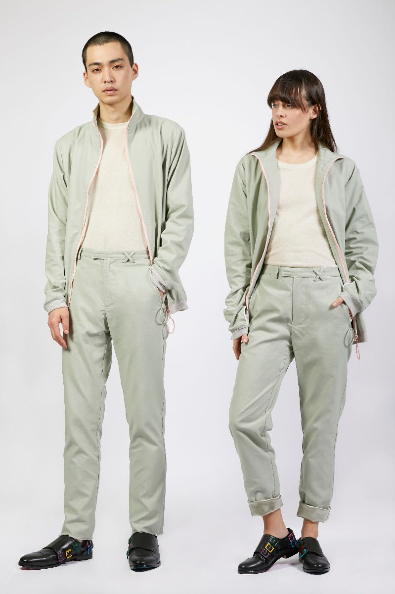 Unisex Grey Loop Trousers