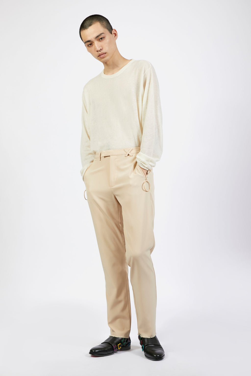 Unisex Hazelnut Loop Trousers