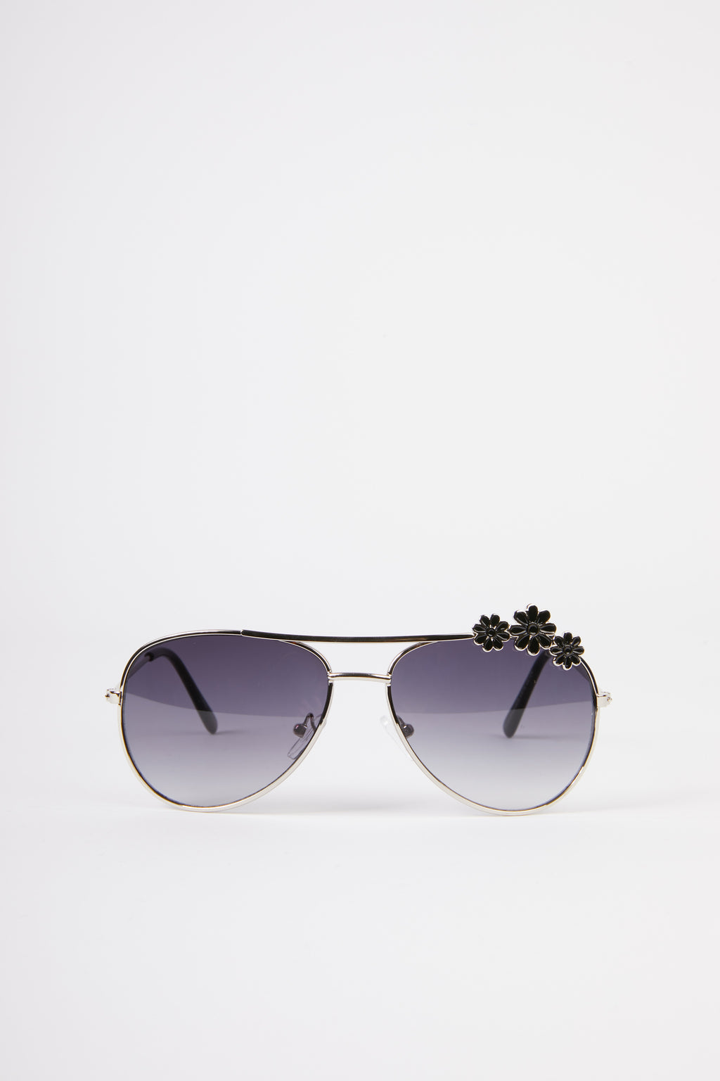 Kids Flower Embellished Sunglasses