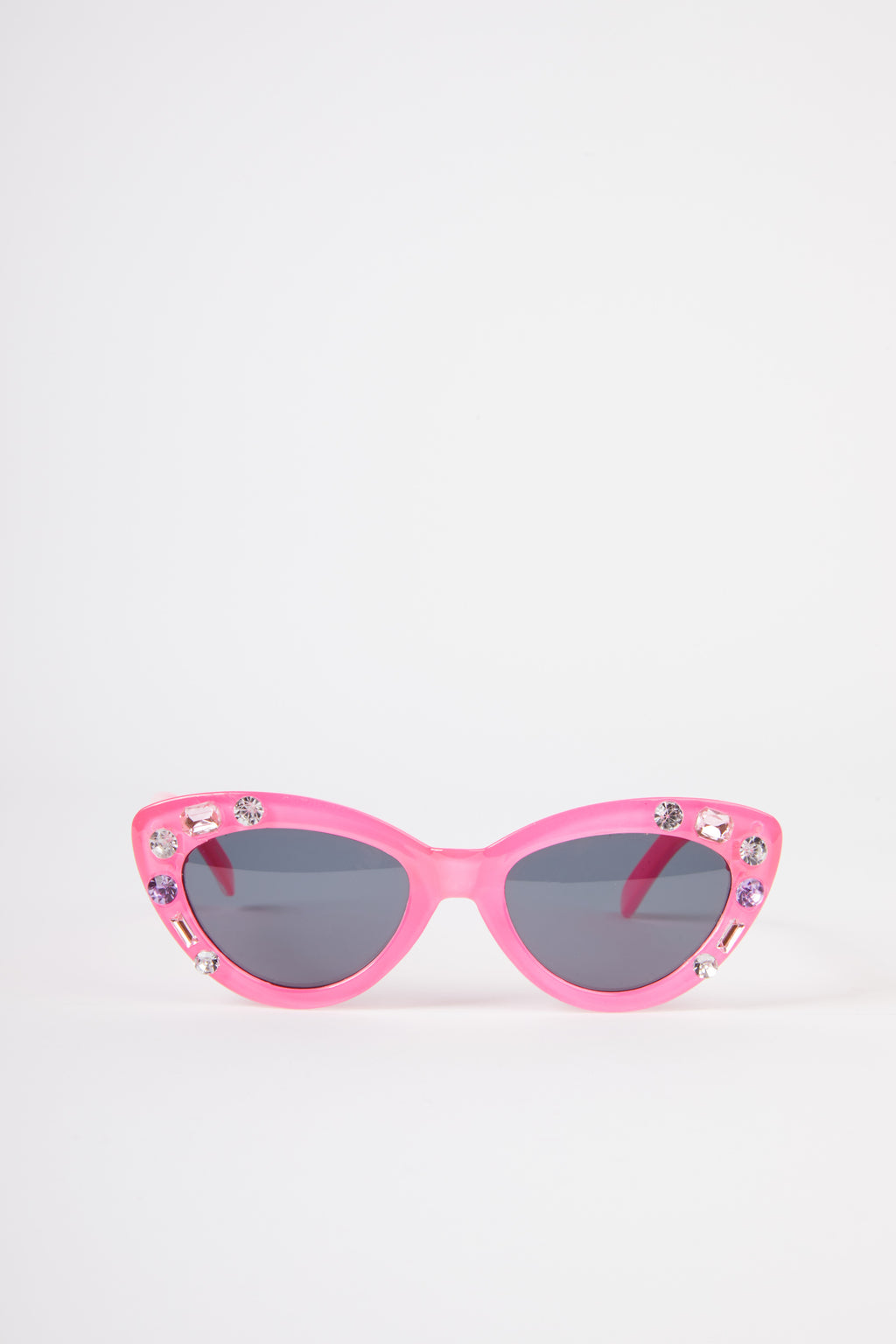 Kids Cat Eye Embellished Sunglasses