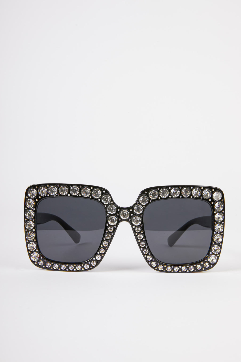 Embellished Square Sunglasses
