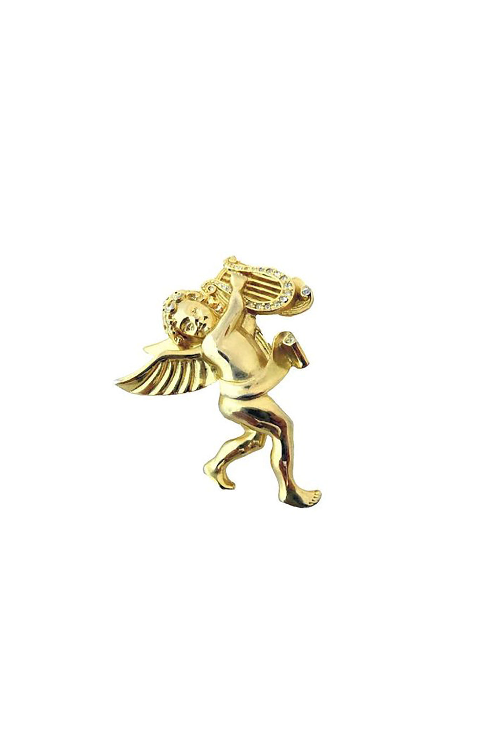 Vintage Signed Givenchy Angel Pin