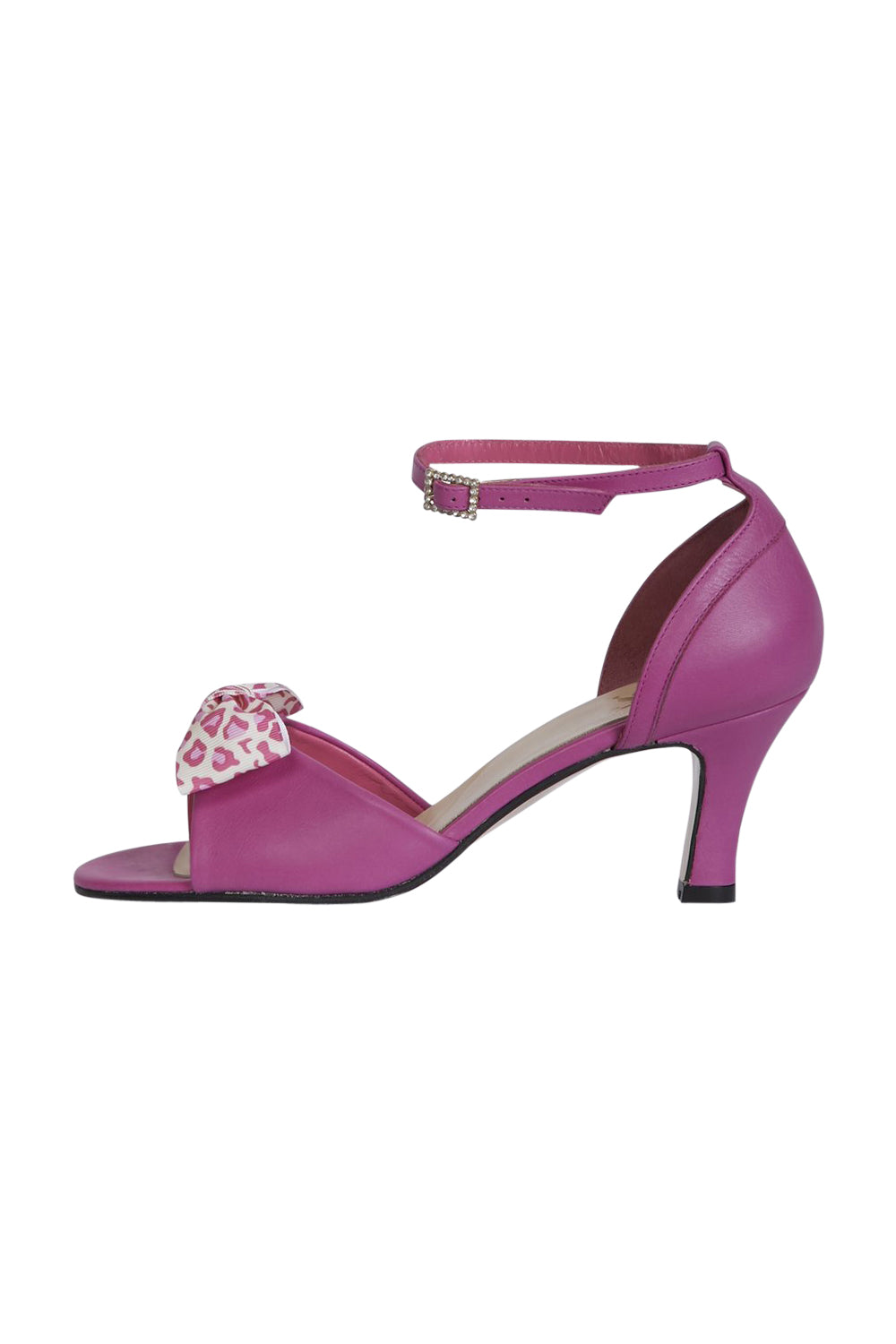 Fuchsia  Dancing Heels with Double Pin