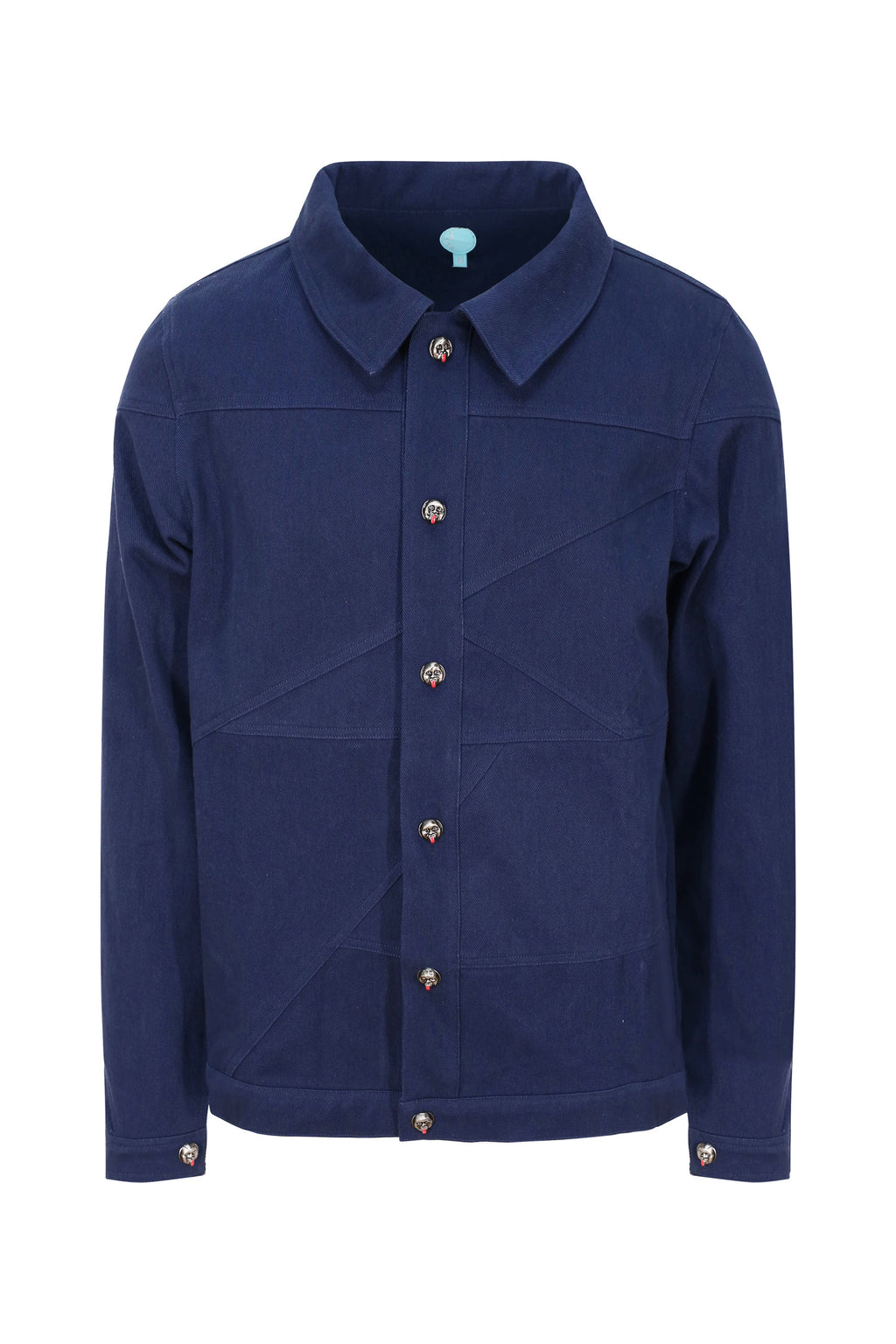 Adrian Unisex Dark Blue Denim Jacket