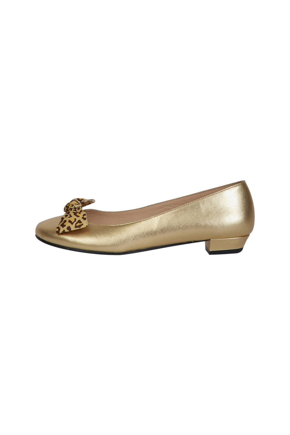 Gold Ballerina with Double Pin