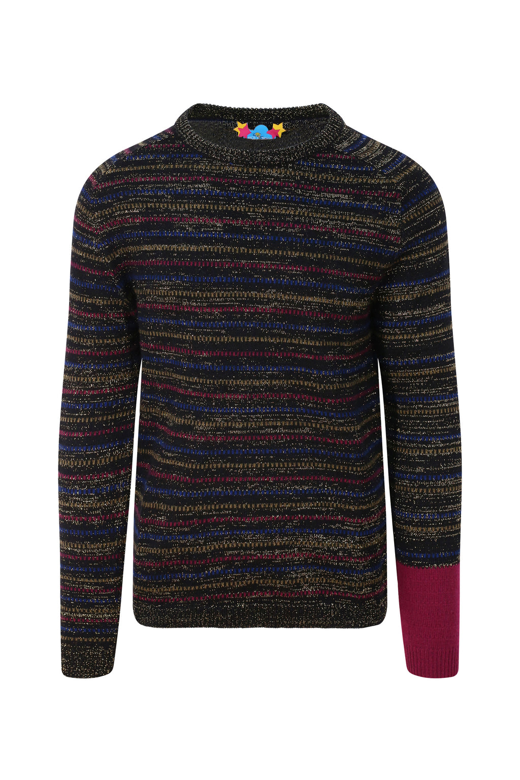 Unisex Striped Cashmere Jumper
