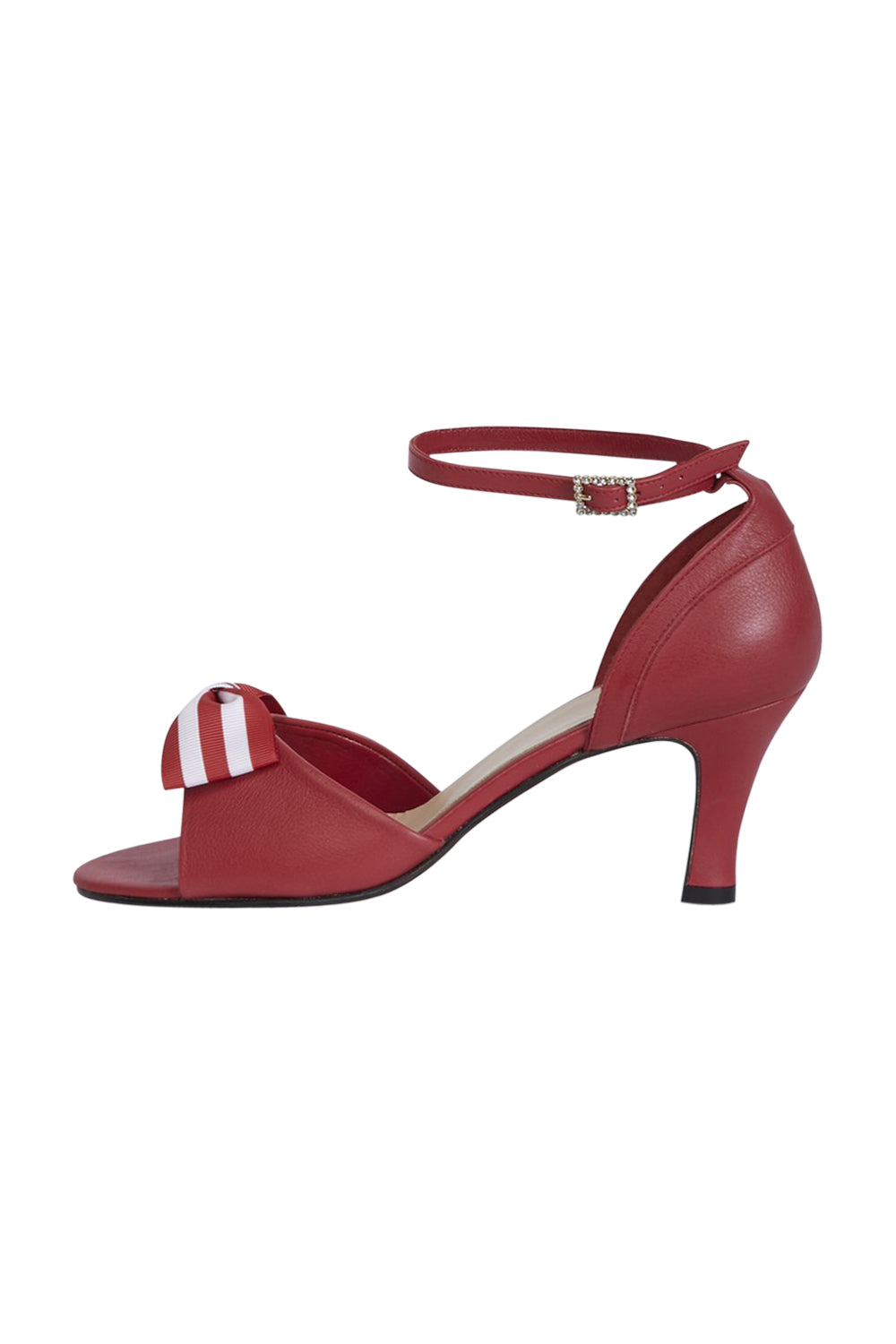 Red Dancing Heels with Double Pin