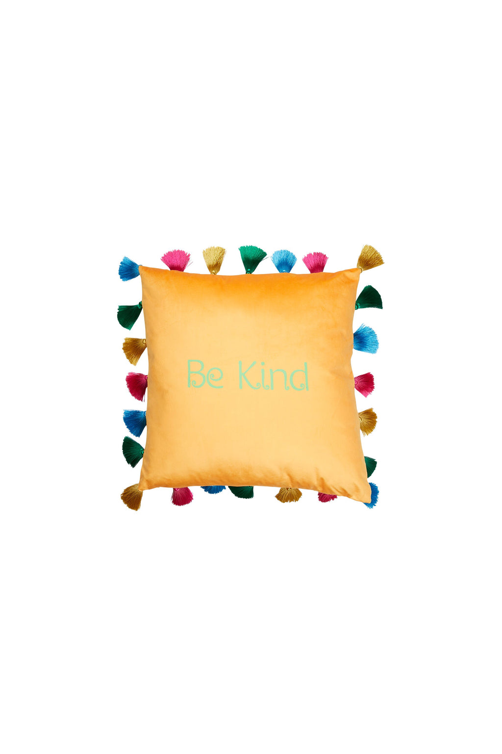 Character Cushion with Tassels