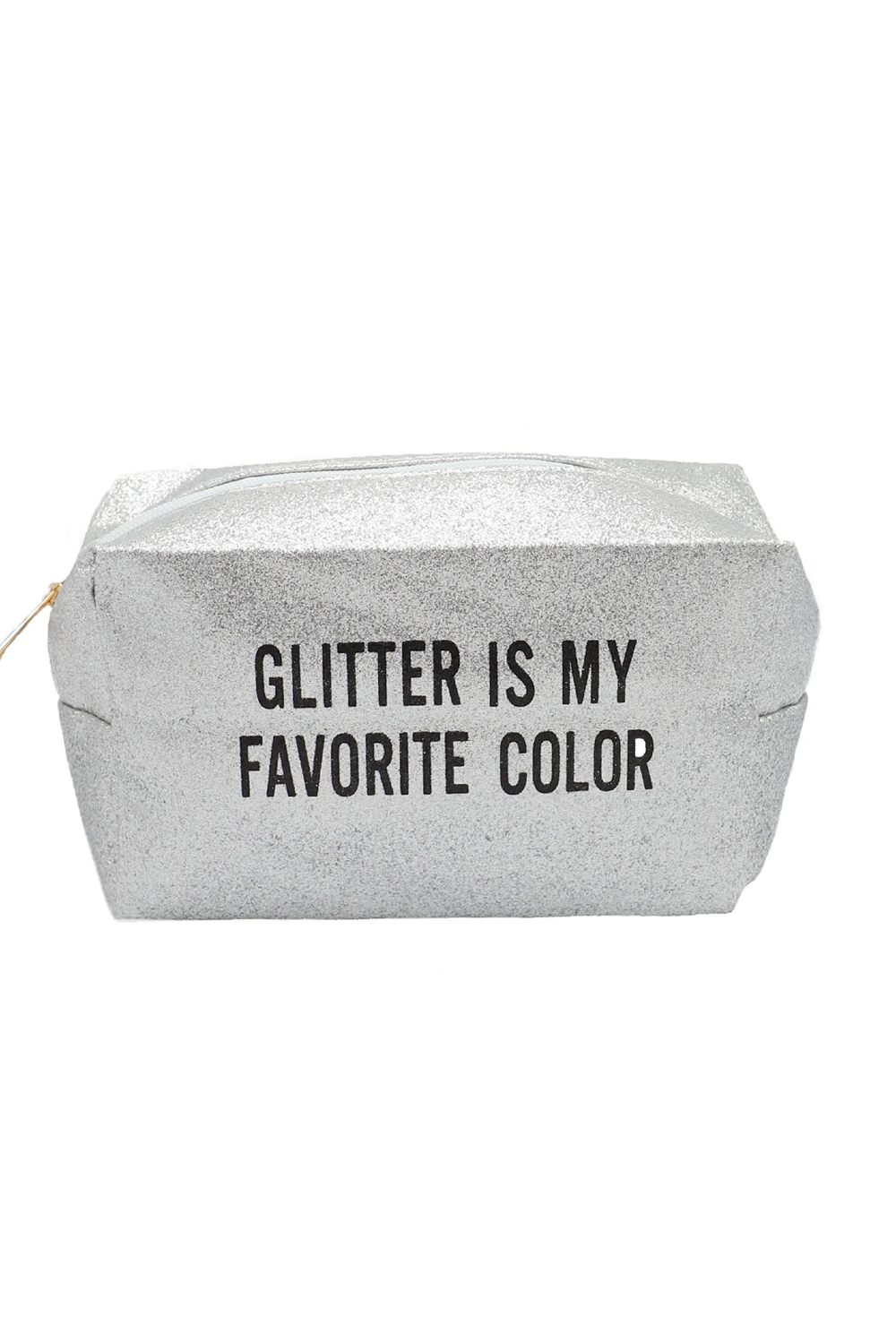 'Glitter Is My Favourite Colour' Makeup Bag