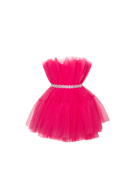 Kids Pink Tutu Party Dress