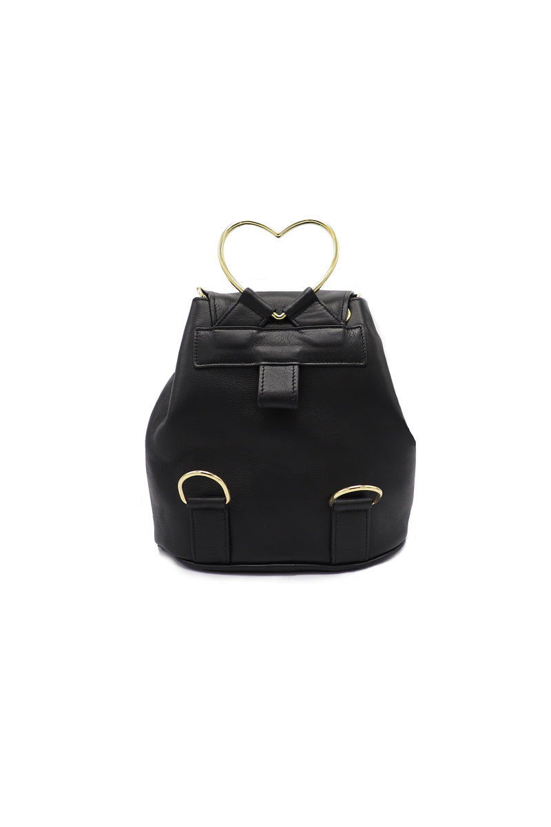 Heart Shaped Leather Bag