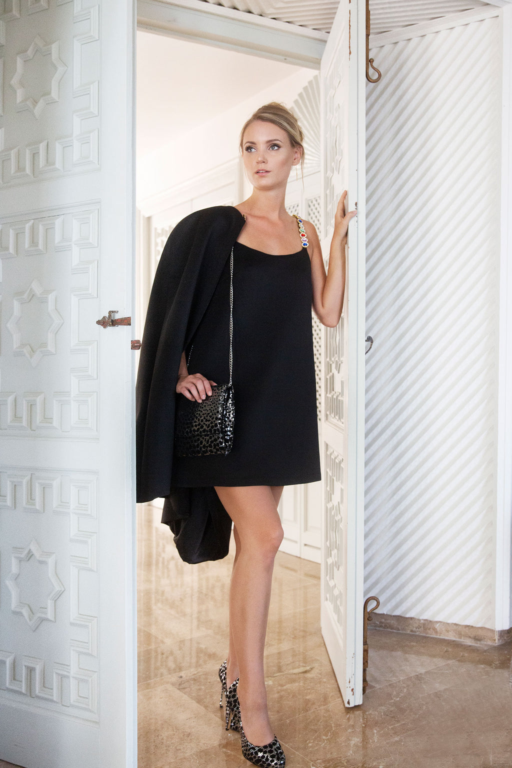 Short Black Tank Dress