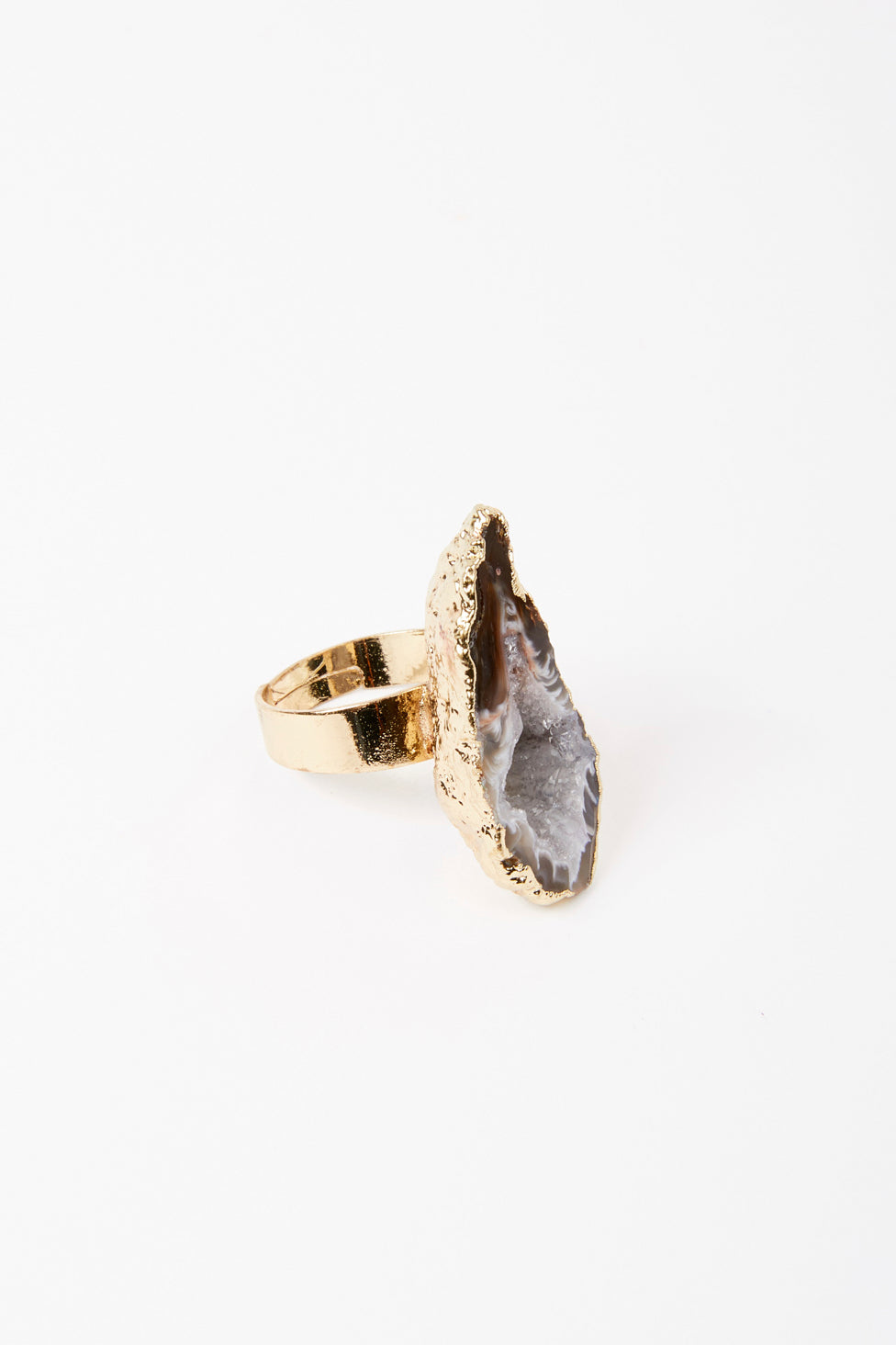Rough Stone Ring