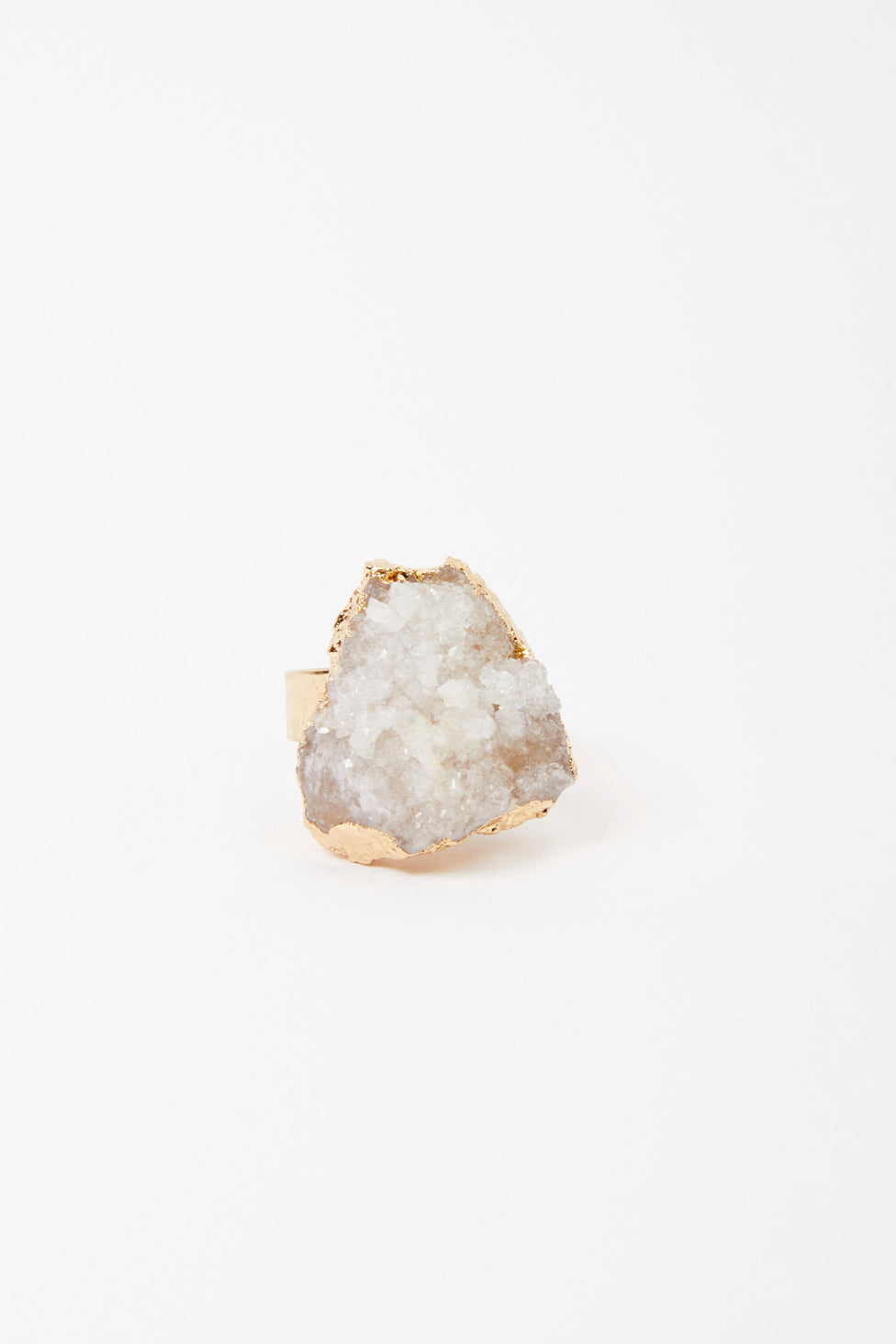 Natural Rough Stone Ring