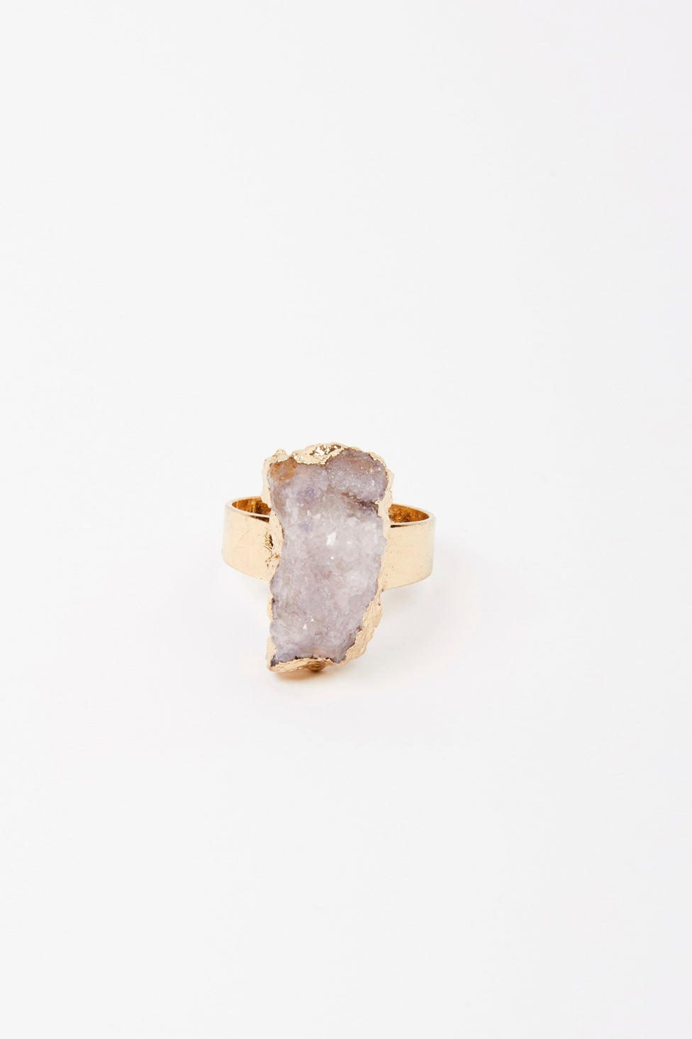 Blush Rough Stone Ring