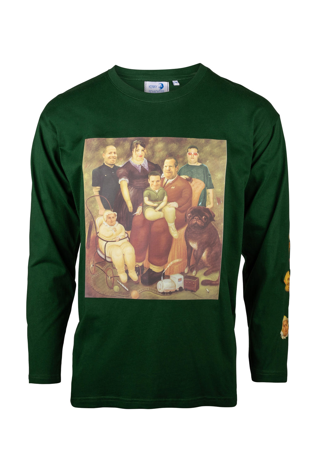 Kenny Schachter 'Botero Schachters' Long Sleeve Top