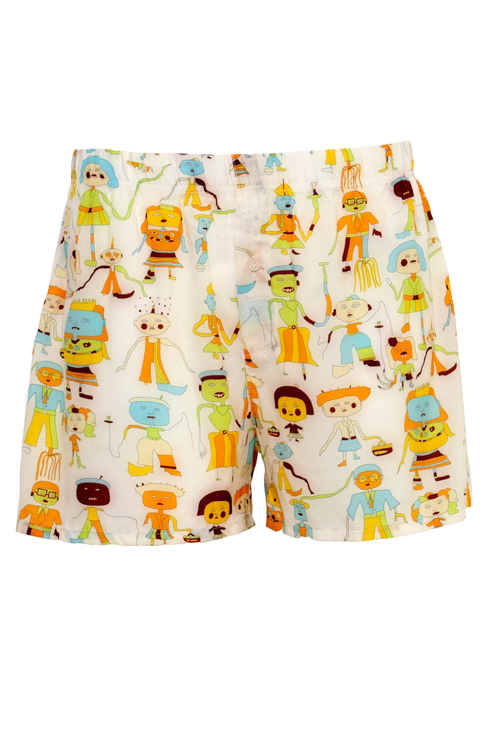 Ilona Rich Character Print Boxers