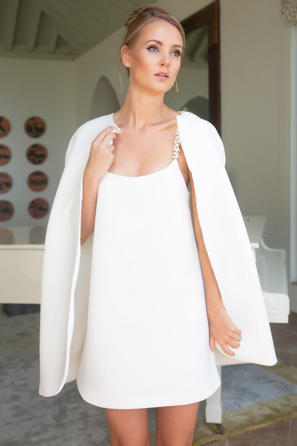 Luxury White Cape