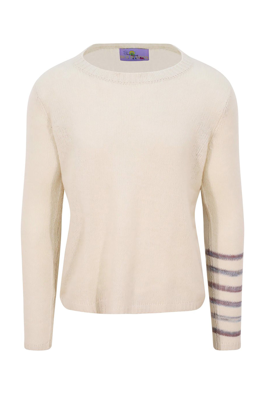 Adrian Unisex Striped Arm Cashmere Sweater