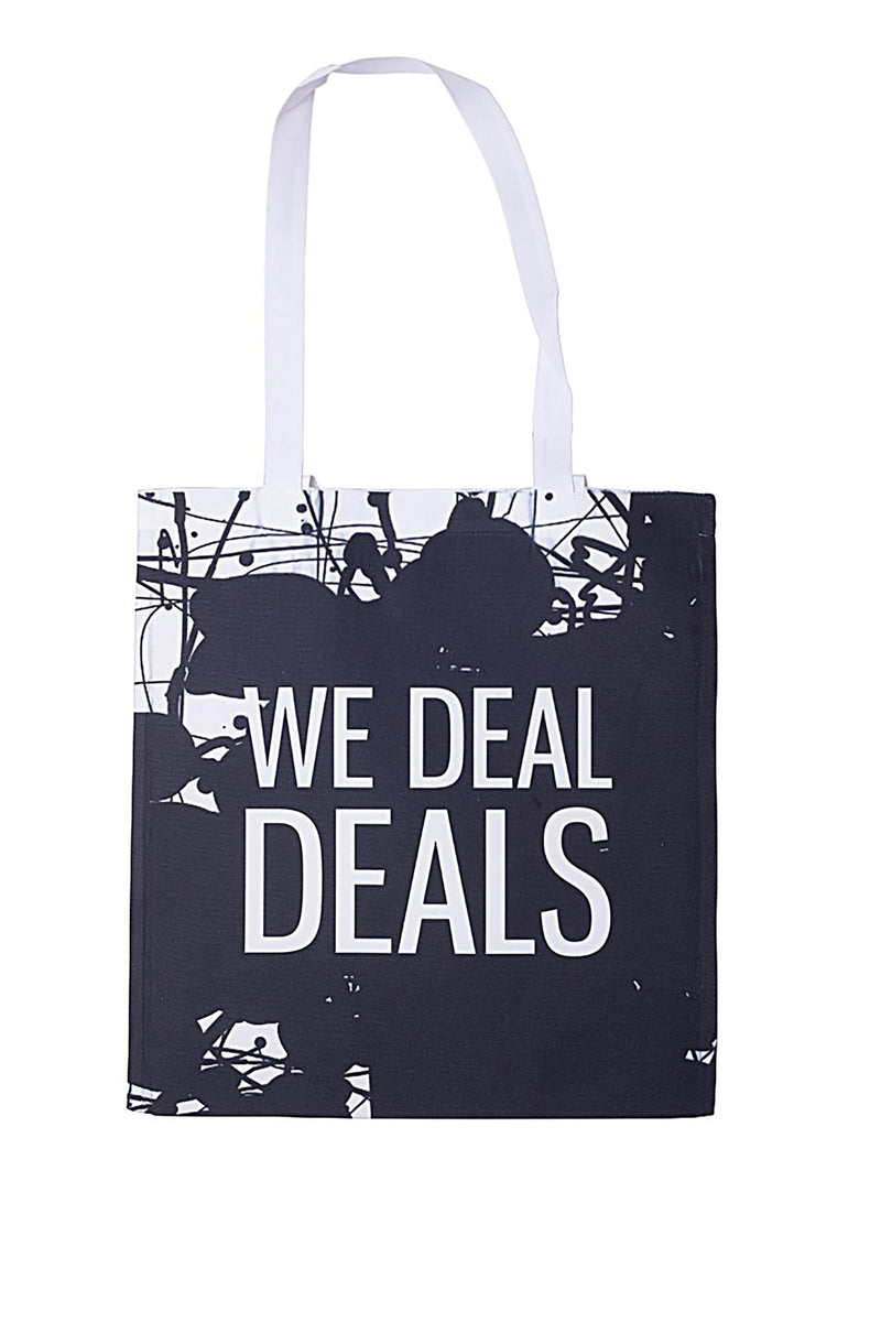 Kenny Schachter We Deal Deals Slogan Tote Bag