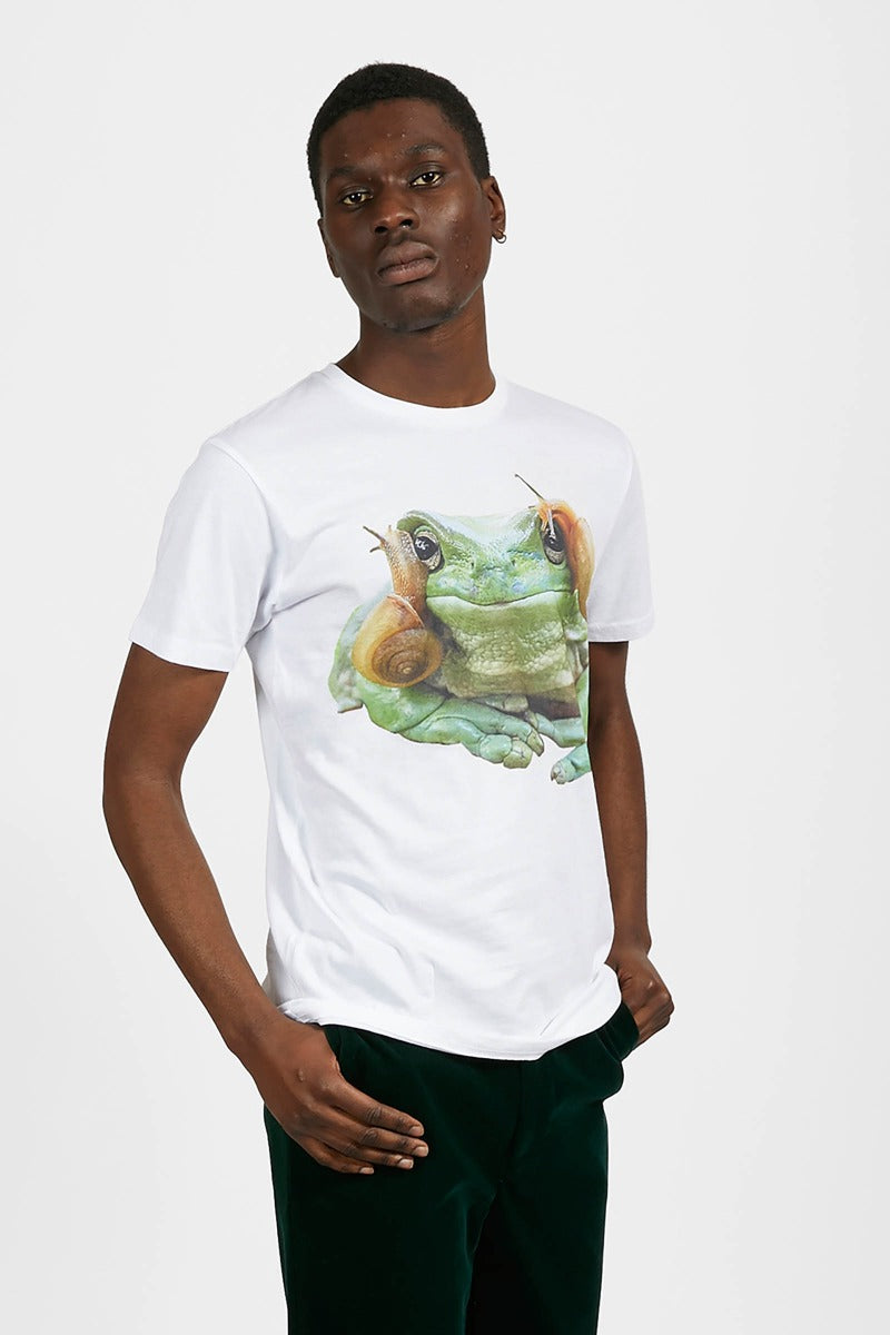 Adrian Unisex 'Frog' Graphic T-Shirt