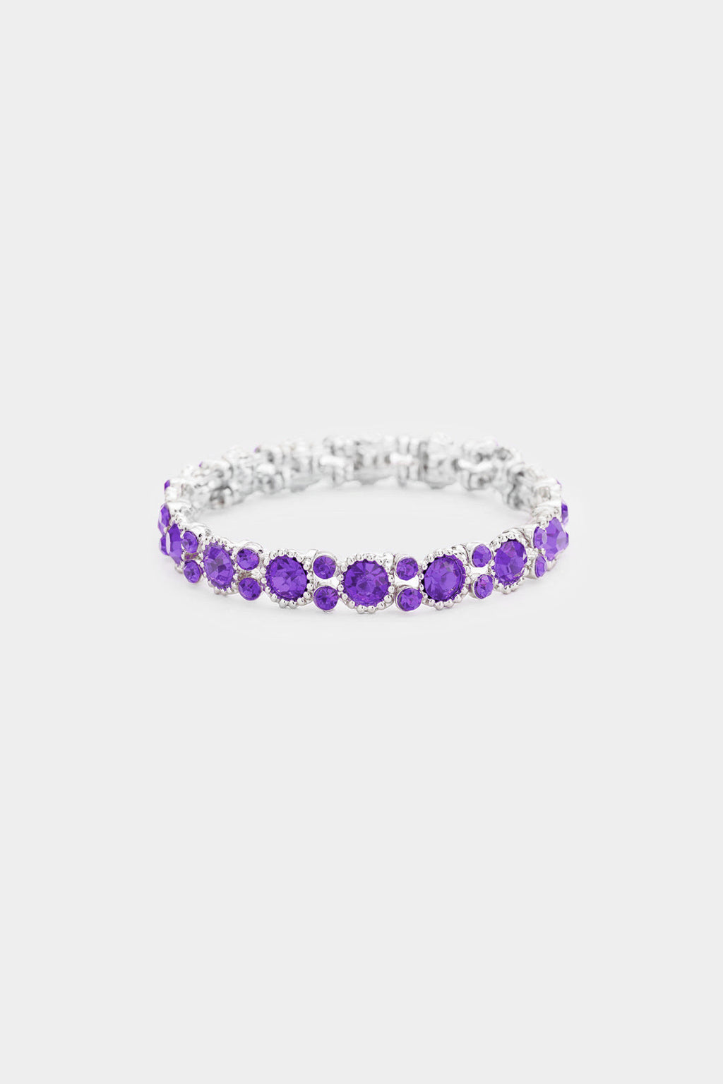 Crystal Round Evening Bracelet