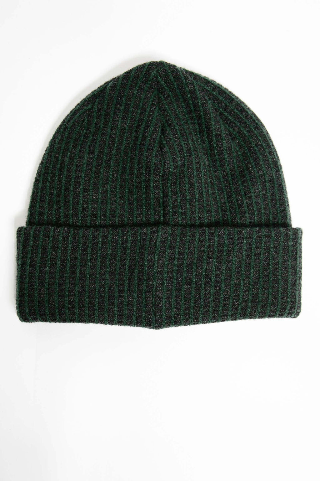 I.S.M. 'Silent Majority' Green Cashmere Beanie