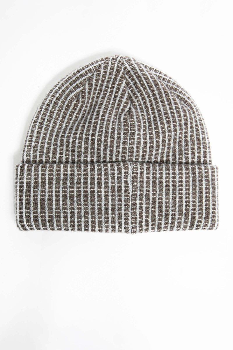 I.S.M. 'Pearl Lager' Grey Cashmere Beanie
