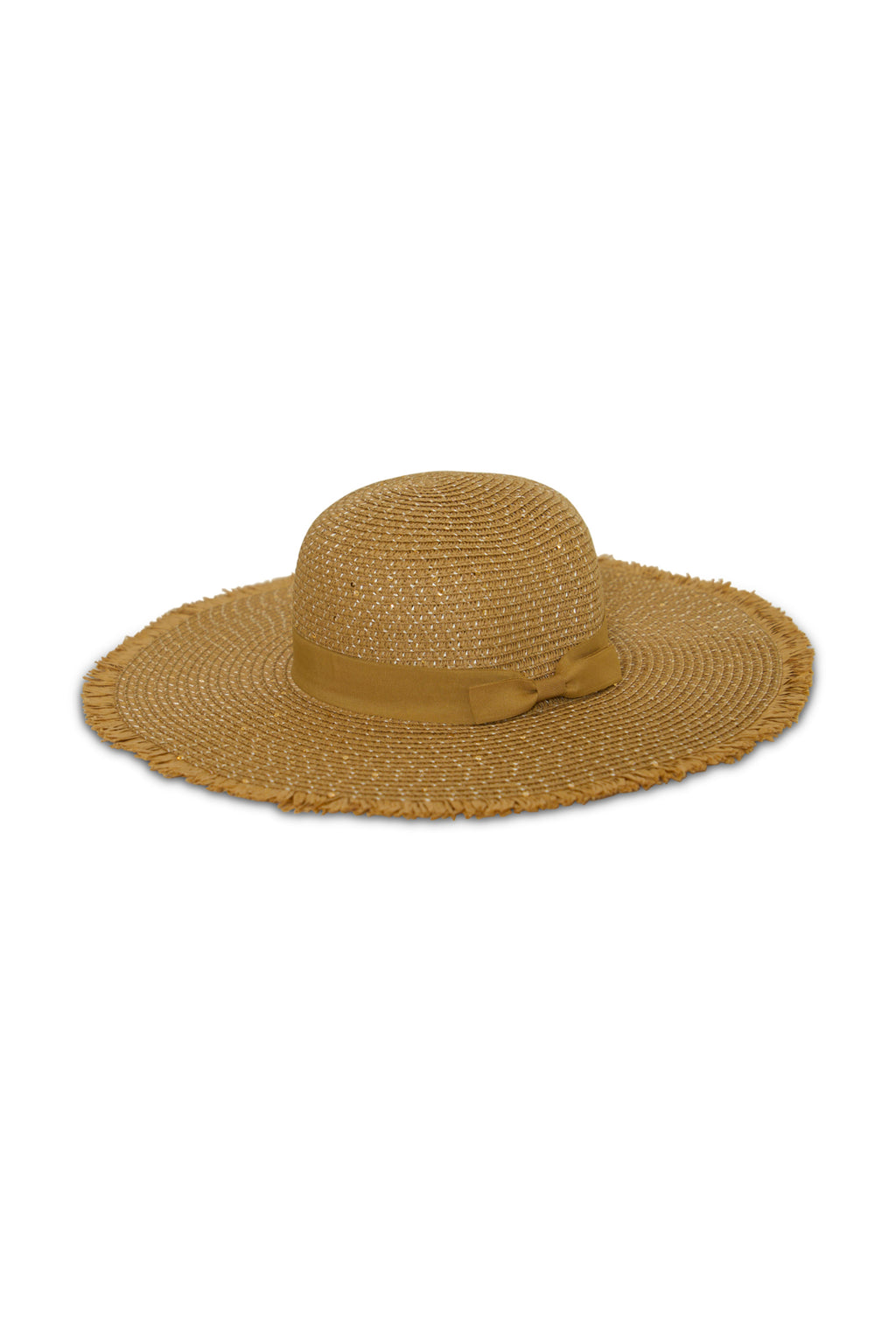 Women Sun Hat With Ribbon