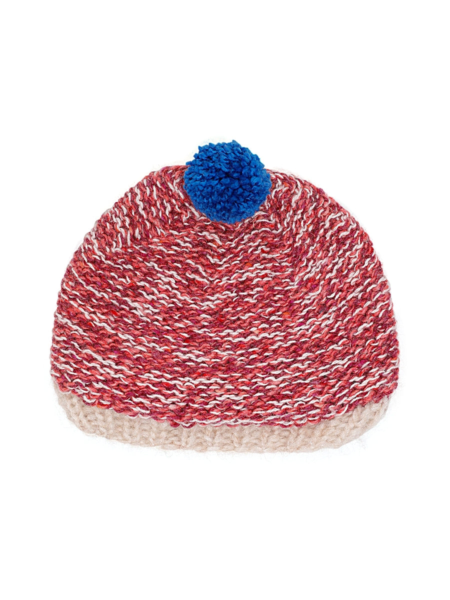 Natty Peeps Kid Knit Bobble Hat